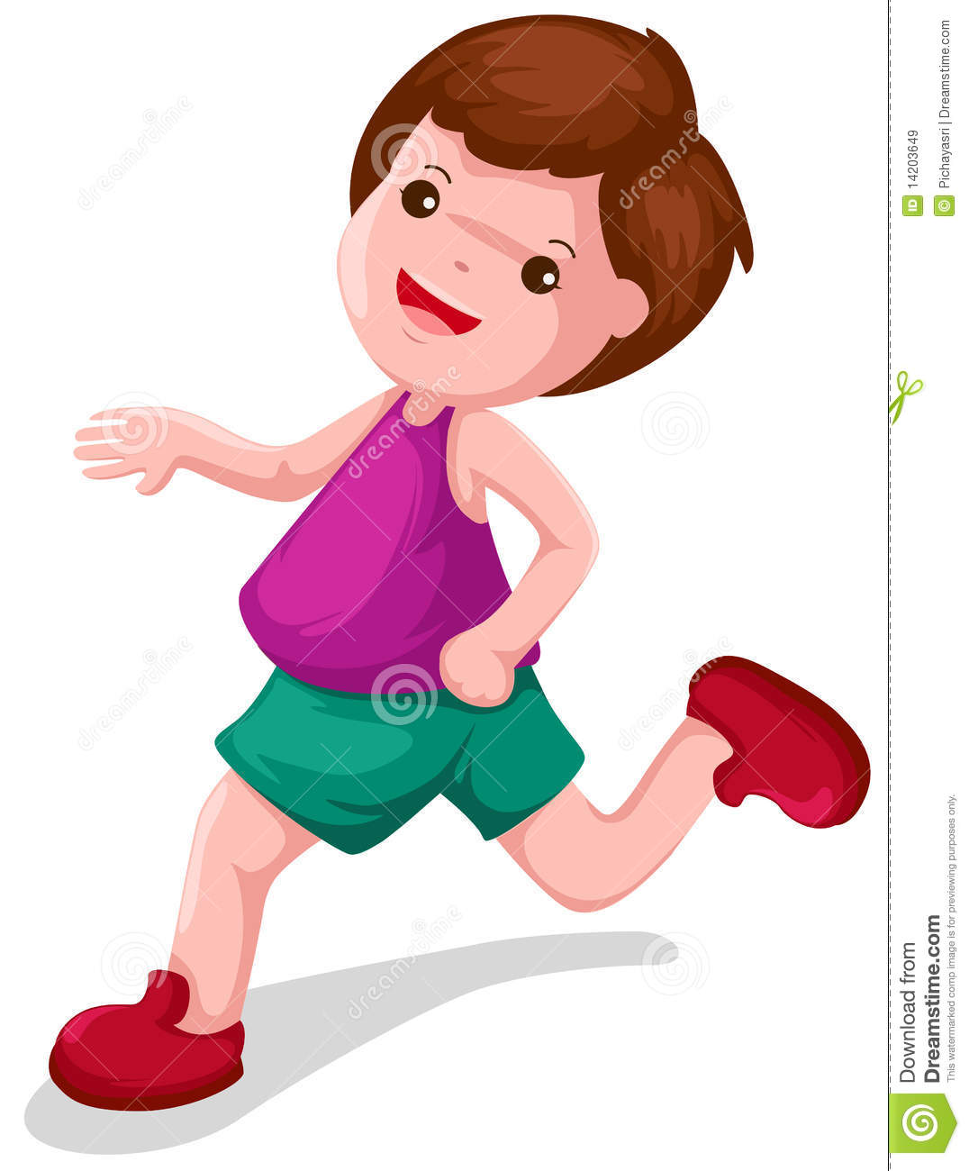 Boy Running Fast Clipart Boy Running Royalty Free Stock