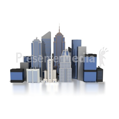 City Downtown Buildings   Business And Finance   Great Clipart For