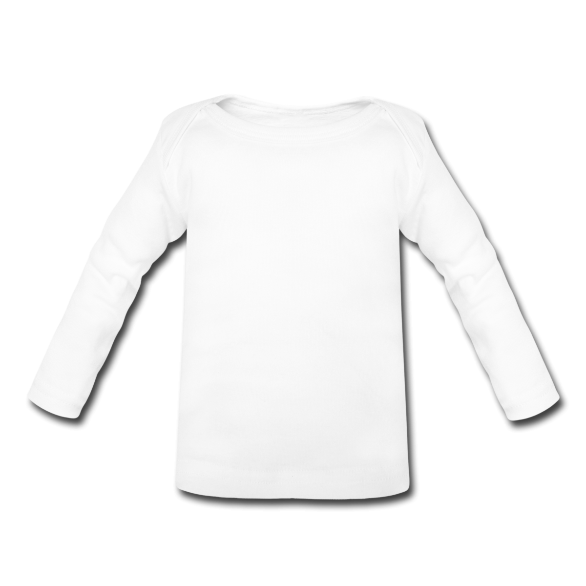 Baby t shirt clipart clipart suggest for Blank long sleeve shirt