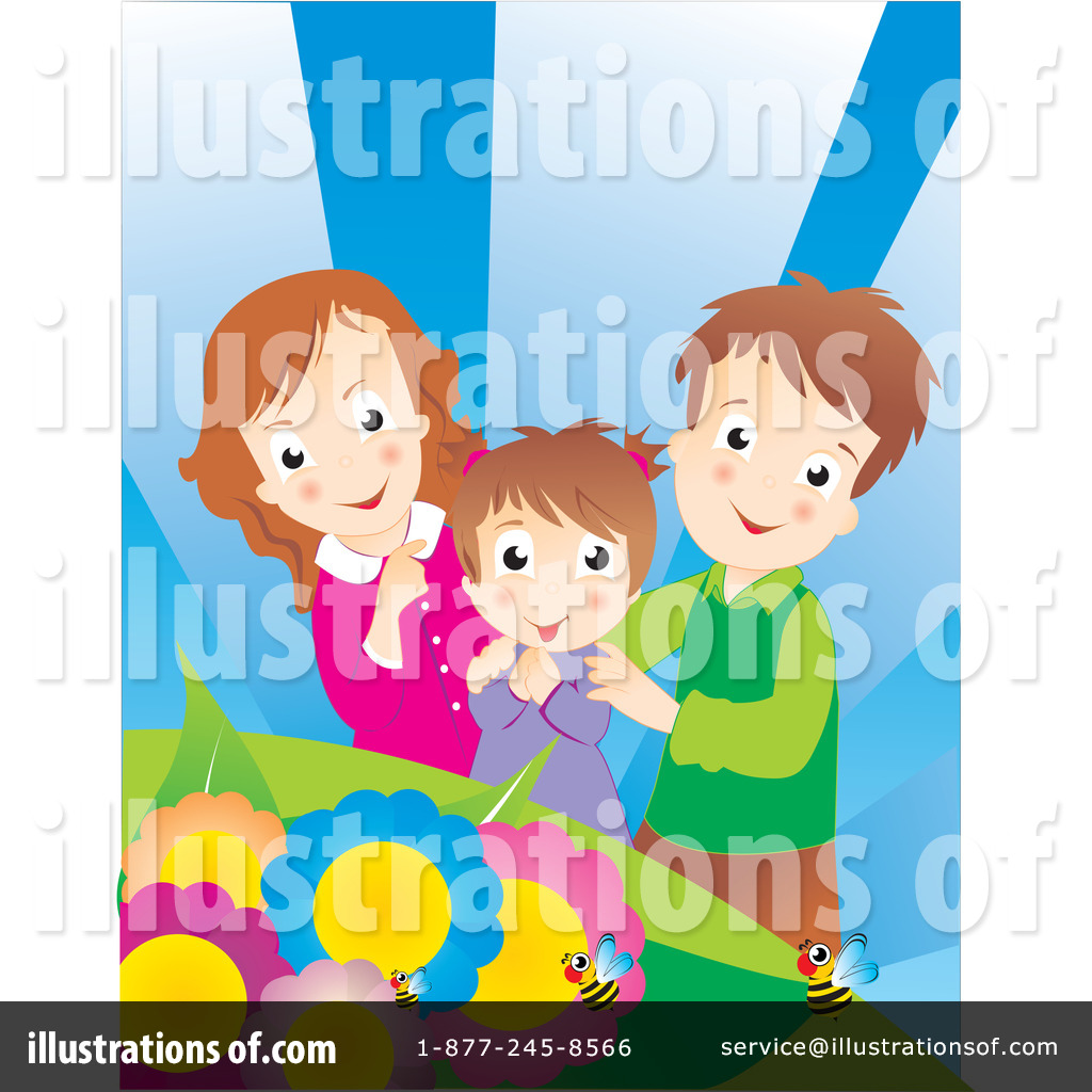 Family Clipart  223609 By Andresr   Royalty Free  Rf  Stock