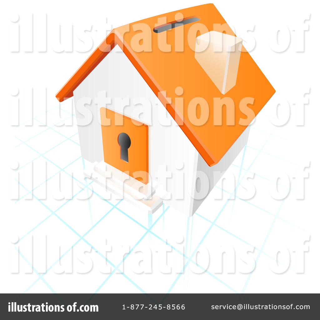 Real Estate Clipart  17357 By Leo Blanchette   Royalty Free  Rf  Stock