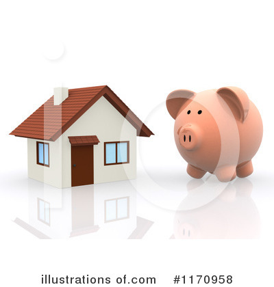 Royalty Free  Rf  Mortgage Clipart Illustration By Andresr   Stock