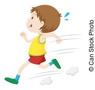 Running Fast Vector Clip Art Eps Images  2922 Running Fast Clipart