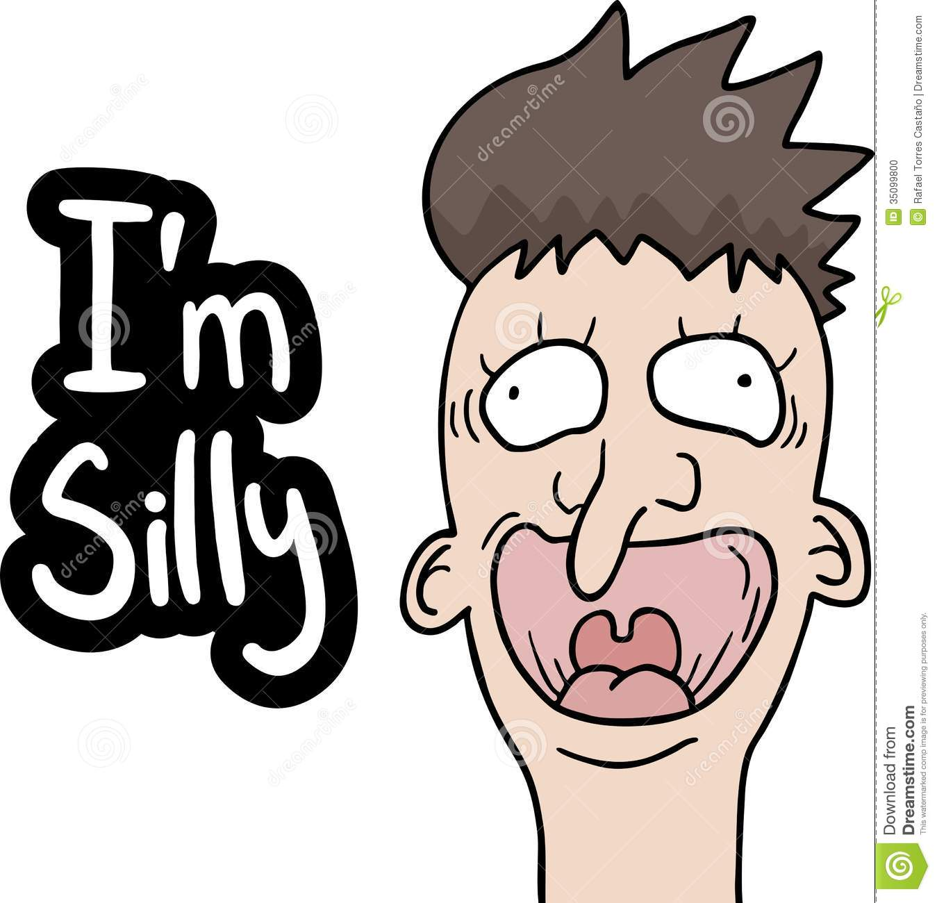 Silly Face Stock Photo   Image  35099800