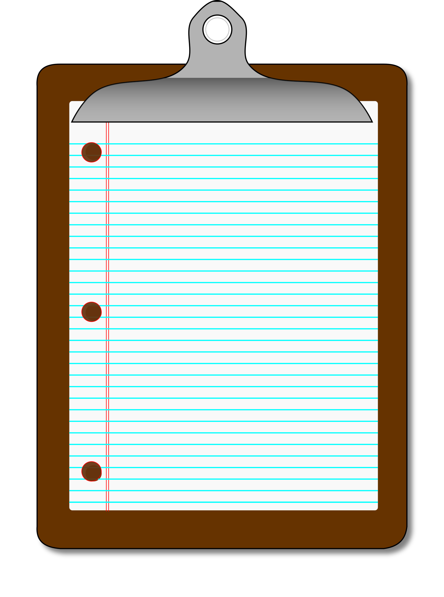Clipboard Lined Paper By Algotruneman