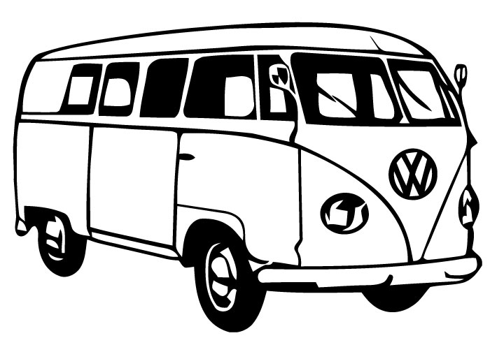 Vw Bus Cliparts on mini cargo vans