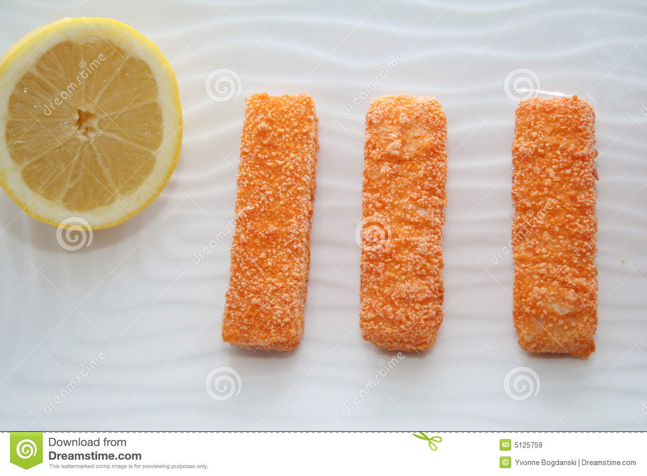 Fish Sticks Royalty Free Stock Images   Image  5125759