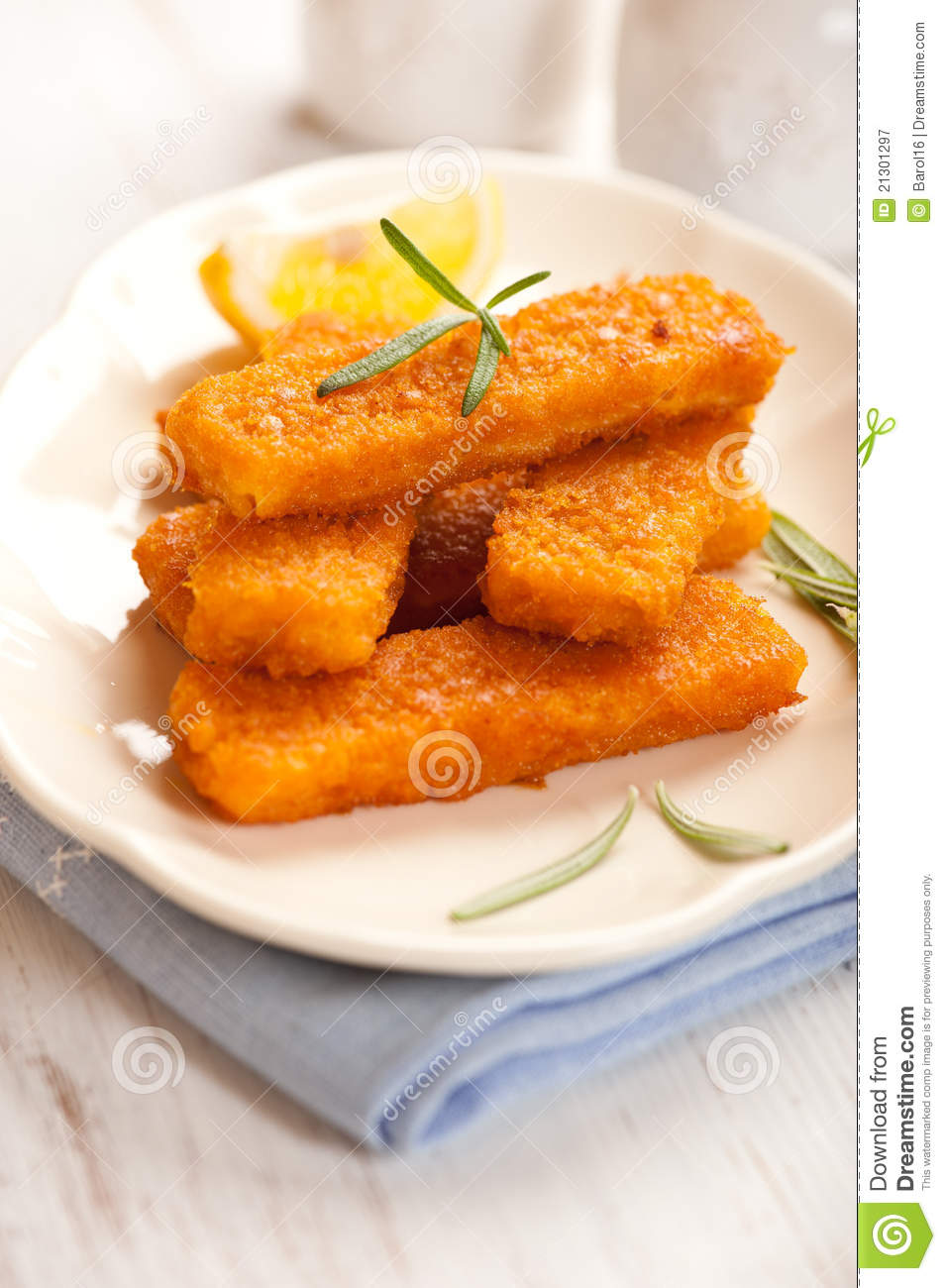 Fish Sticks Royalty Free Stock Photography   Image  21301297