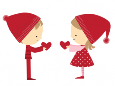 Happy Valentine Black And White Clipart - Clipart Kid