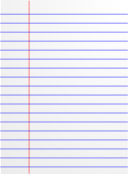 Lined Paper Icon Clipart   Royalty Free Public Domain Clipart