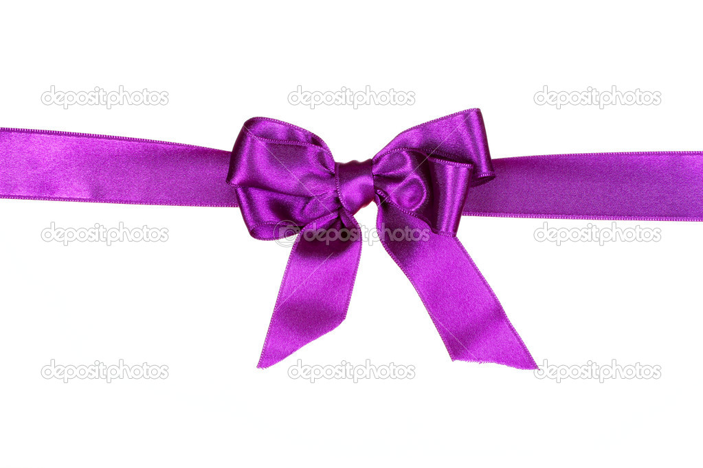 Purple Bow And Cake Ideas And Designs