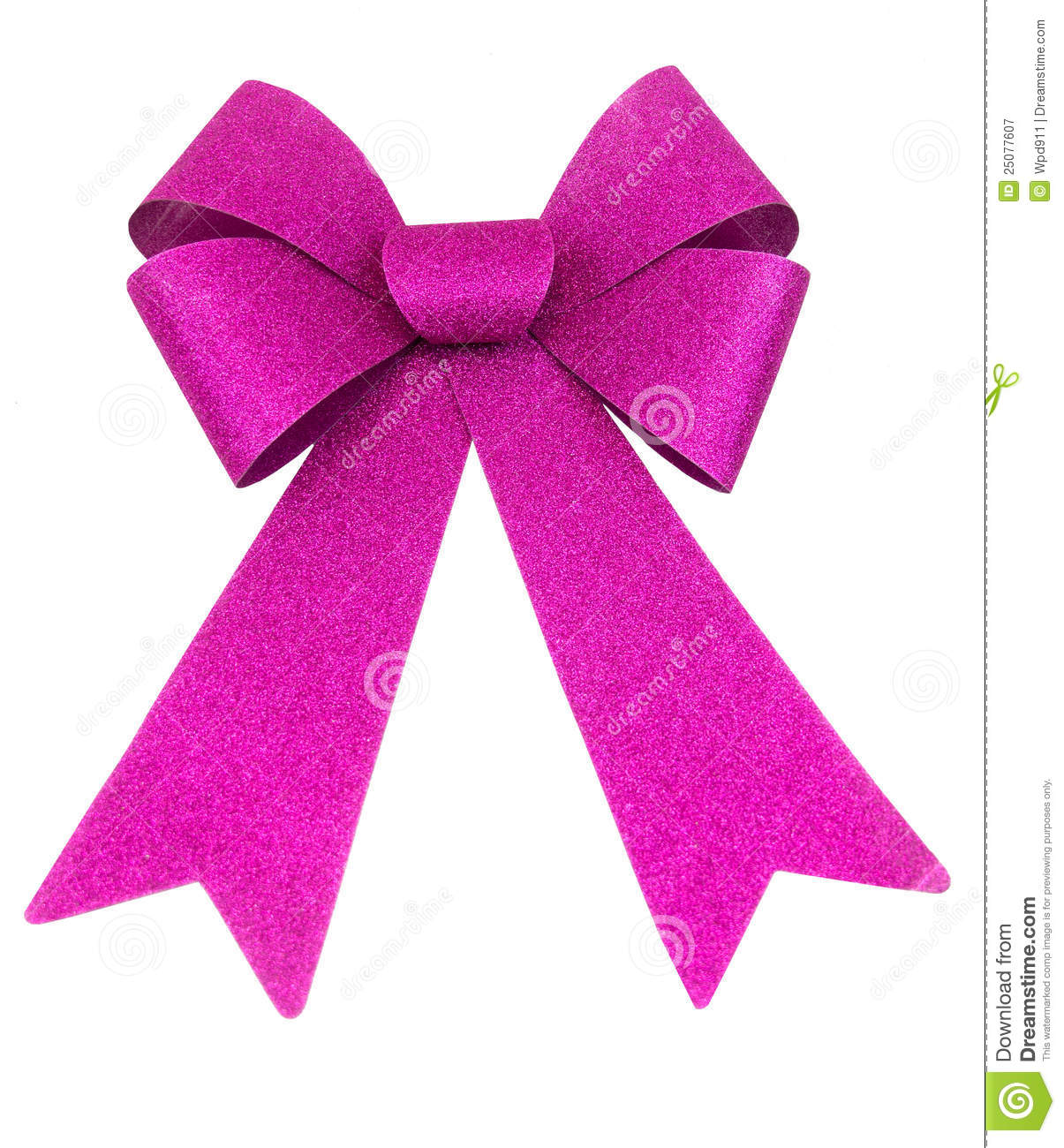 Purple Bow Royalty Free Stock Photography   Image  25077607
