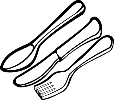 Spoon Clipart Black And White   Clipart Panda   Free Clipart Images