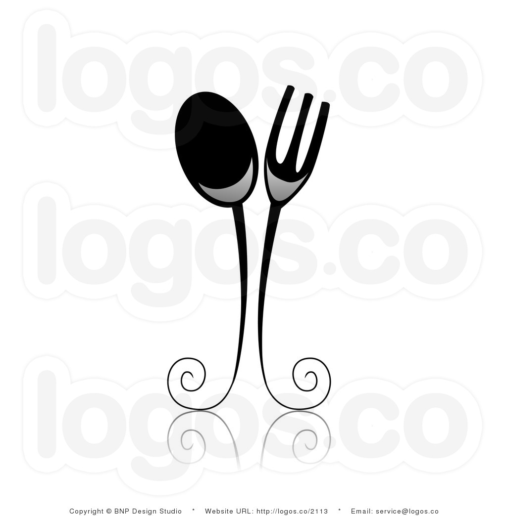 Spoon Clipart Black And White Royalty Free Black And White Spoon And