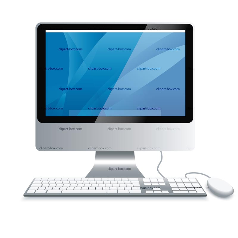 Clipart Imac Computer   Royalty Free Vector Design