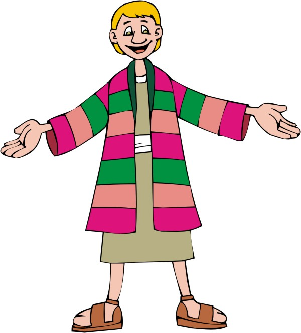 Clipart Joseph S Coat Of Many Colors 1