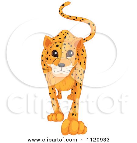 Cute Cheetah Clipart - Clipart Kid