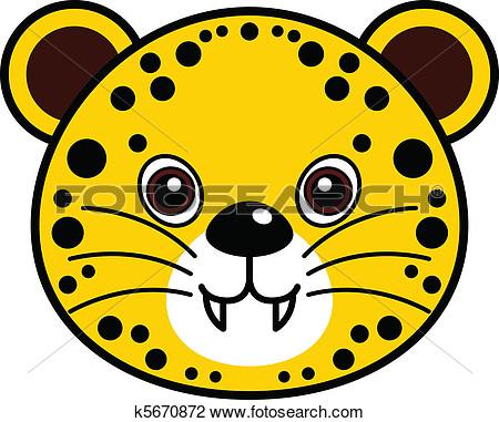 Cute Cheetah Clipart - Clipart Suggest