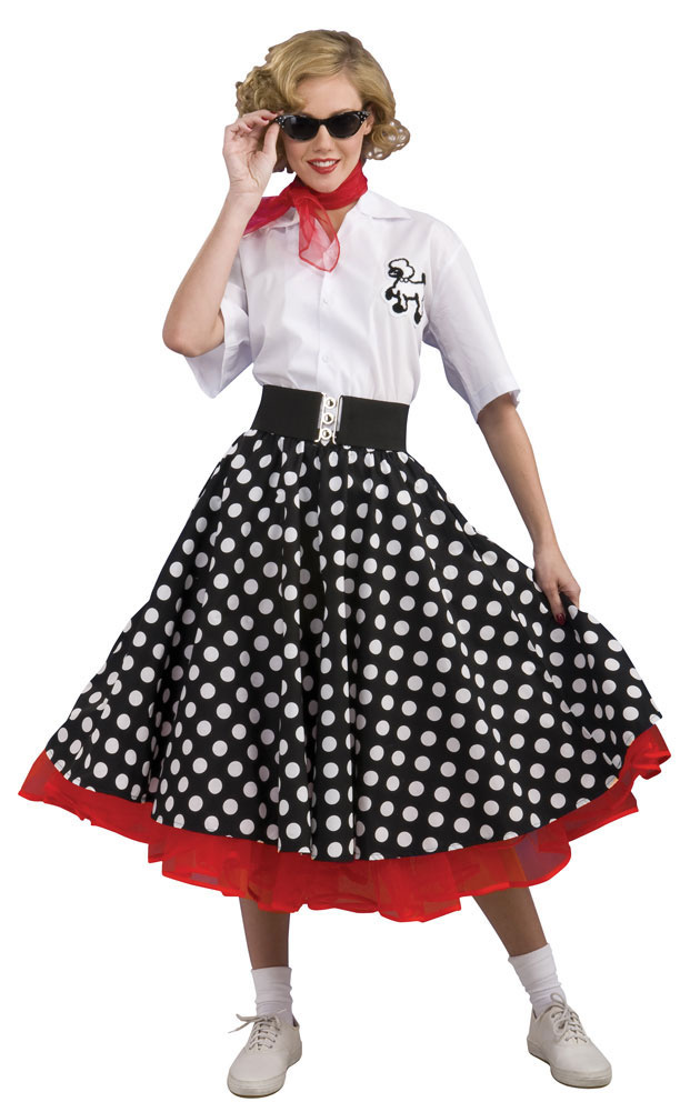 Home    50s Costumes    Grand Heritage Womens Polka Dot 50s Costume