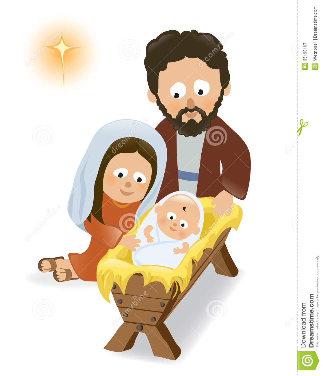 Mary And Joseph Clipart Baby Jesus Mary And Joseph