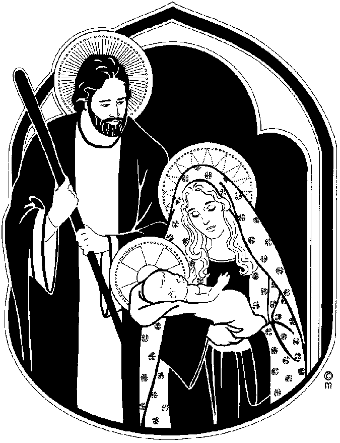 Mary And Joseph Clipart   Cool Eyecatching Tatoos