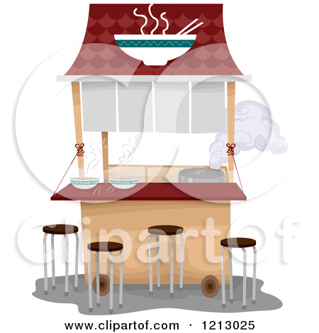 Royalty Free  Rf  Food Cart Clipart   Illustrations  1