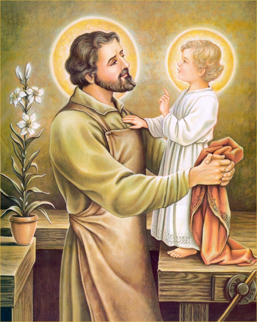 St Joseph The Carpenter Clipart   Picturespider Com