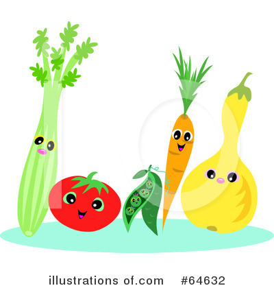 Veggies Clipart  64632   Illustration By Bpearth