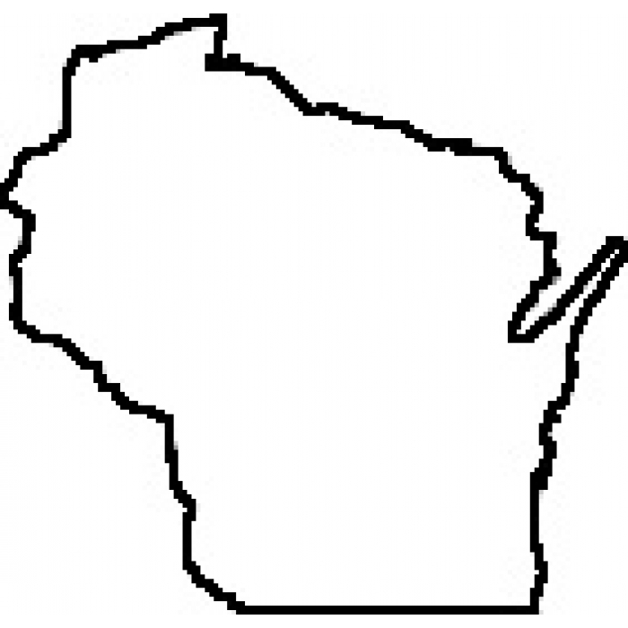 11 Outline Of Wisconsin State   Free Cliparts That You Can Download To