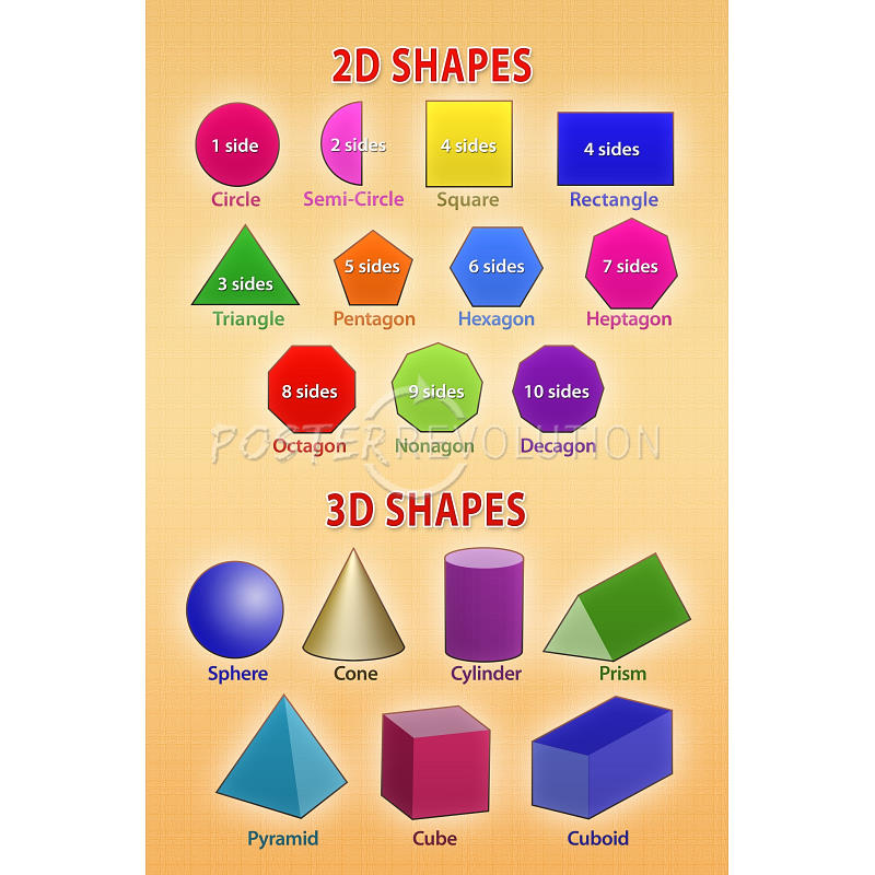 2d Shapes Clipart - Clipart Kid