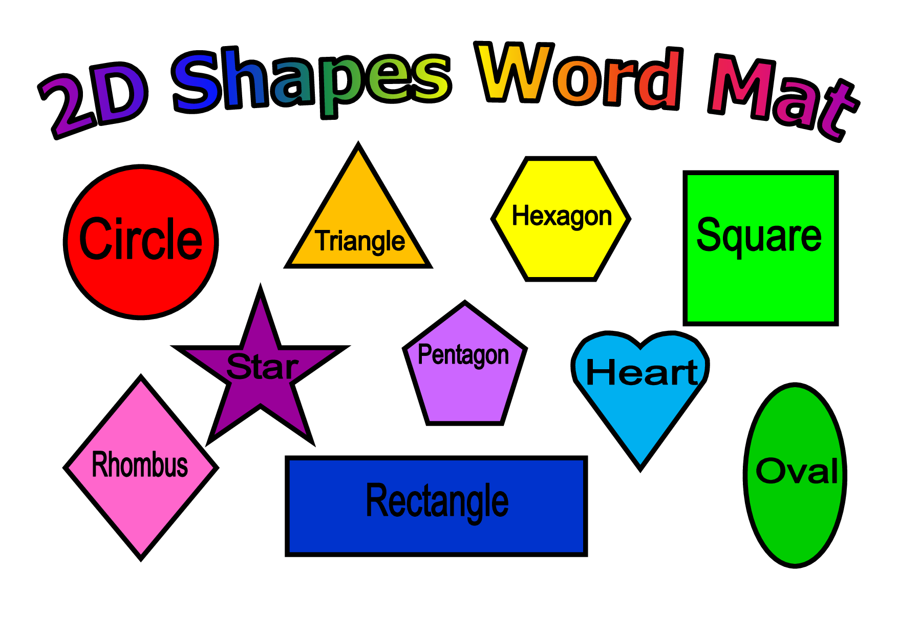 Naming 2d And 3d Shapes Worksheet Tes - Intrepidpath