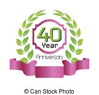 40 Years Clipart Vector Graphics  127 40 Years Eps Clip Art Vector And