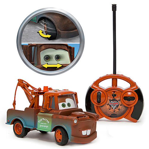 Air Hogs Cars 2 Radio Control Vehicle With Moving Eyes   Tow Mater