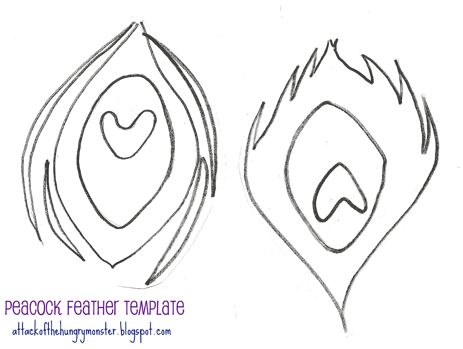 Basic Feather Outline Clipart - Clipart Suggest