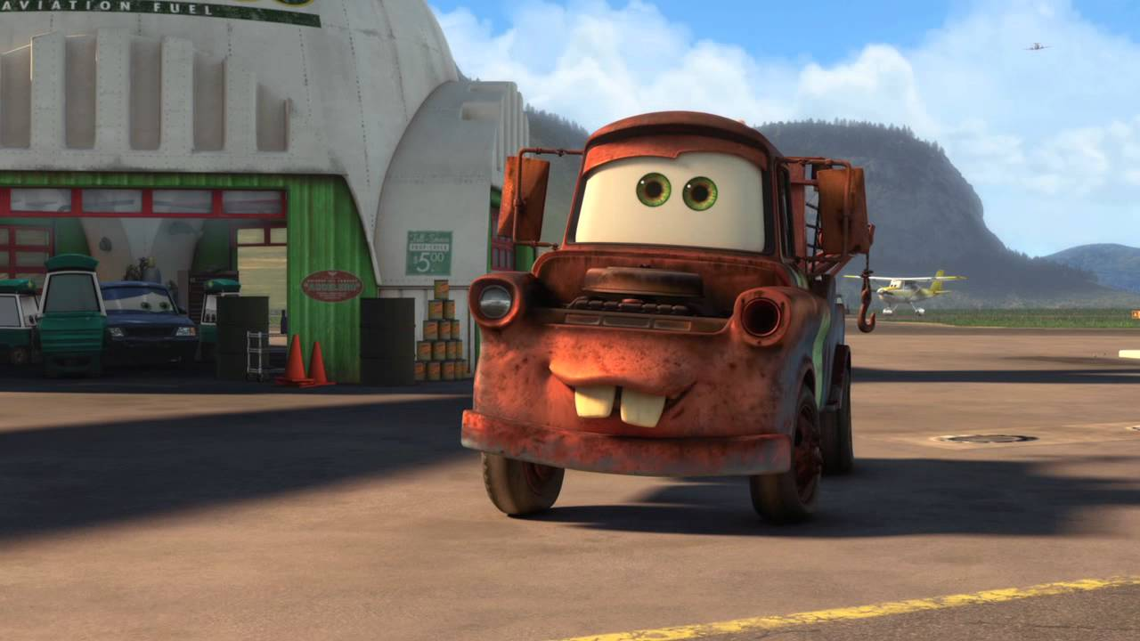Cars 2  Air Mater  New Short Film    Clip   Youtube