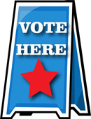 Free Voting Clipart   Clip Art Pictures   Graphics   Illustrations