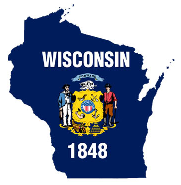 Outline Of Wisconsin   Clipart Best