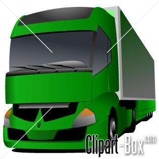 Related Large Green Truck Cliparts