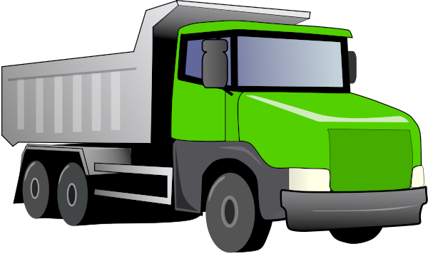 Truck Green   Http   Www Wpclipart Com Working Vehicles Dump Truck