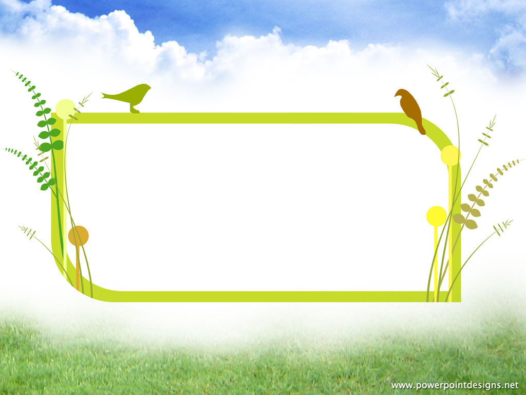 Animated Clipart Birds Backgrounds For Powerpoint Template