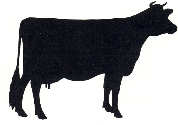 Beef Cow Silhouette   Clipart Panda   Free Clipart Images