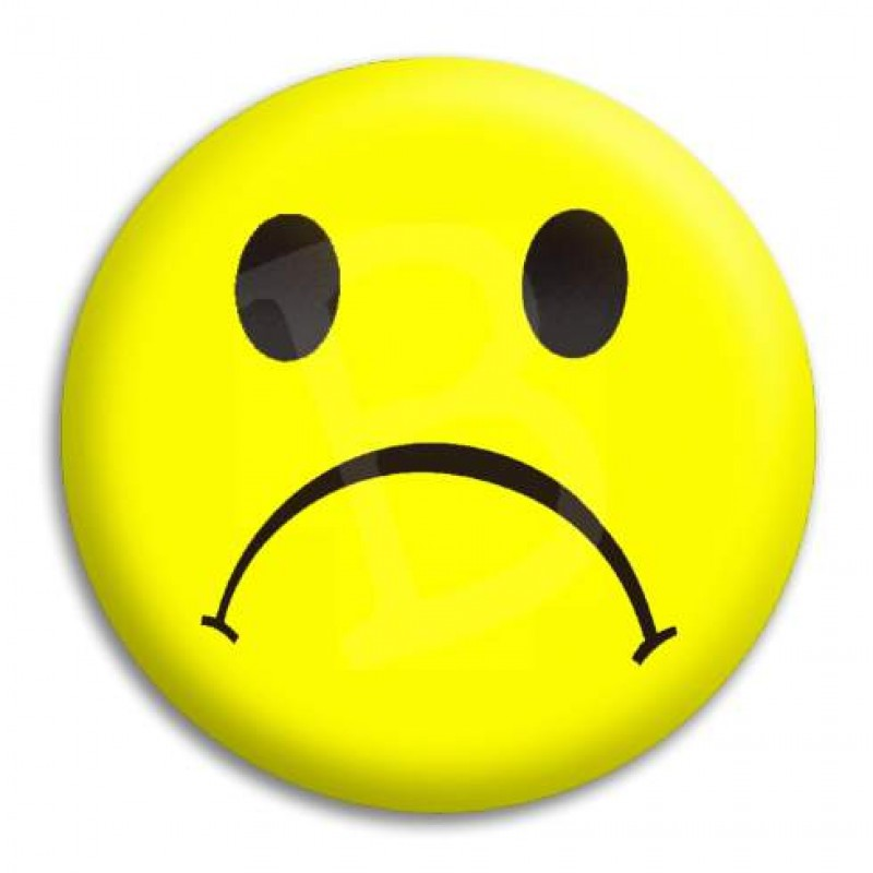 Yellow Sad Face Clipart - Clipart Kid