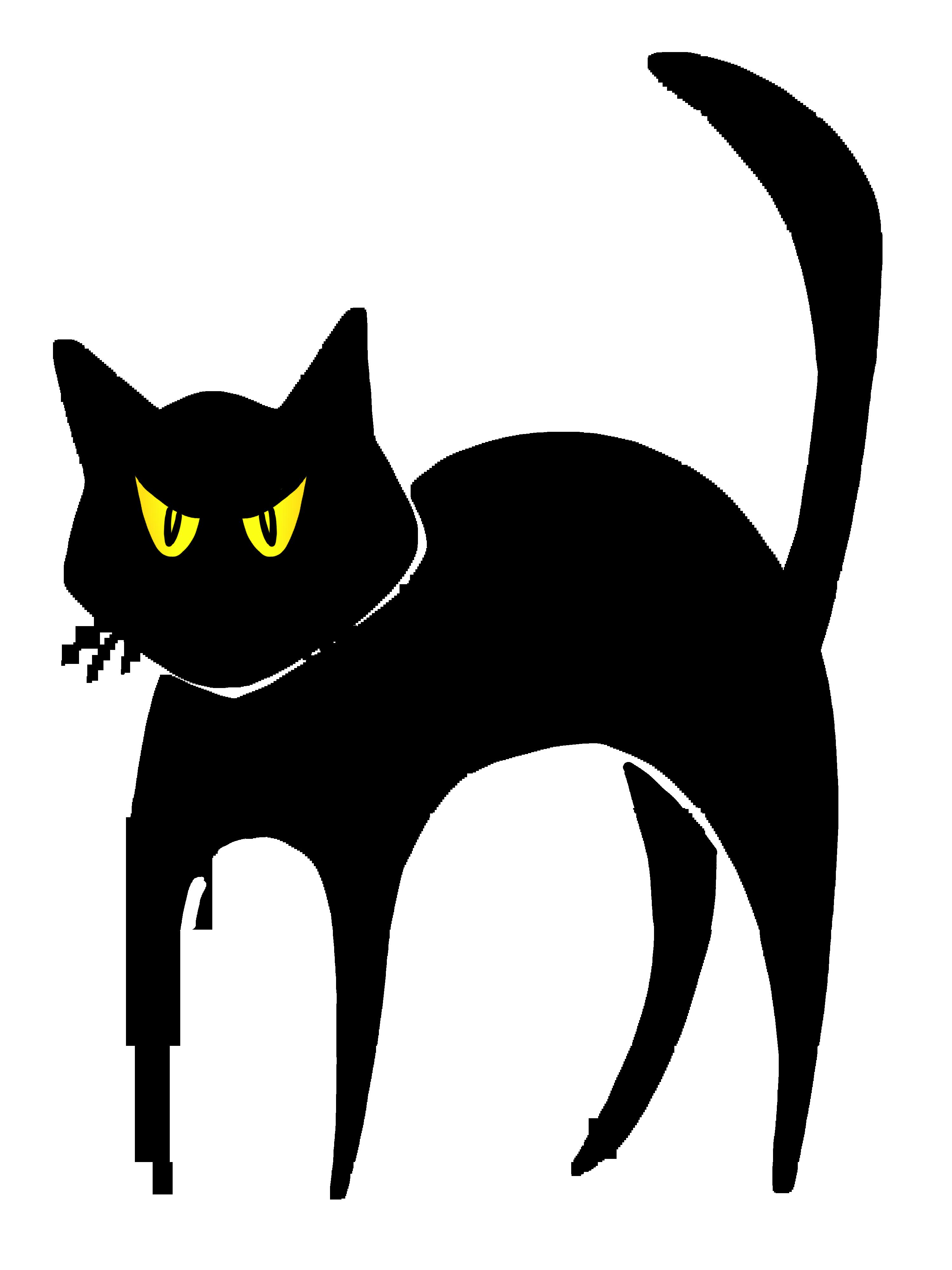 Clip Art Halloween Cat Clipart halloween black cat clipart kid clip art best