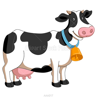 Cartoon Cow Clipart - Clipart Kid