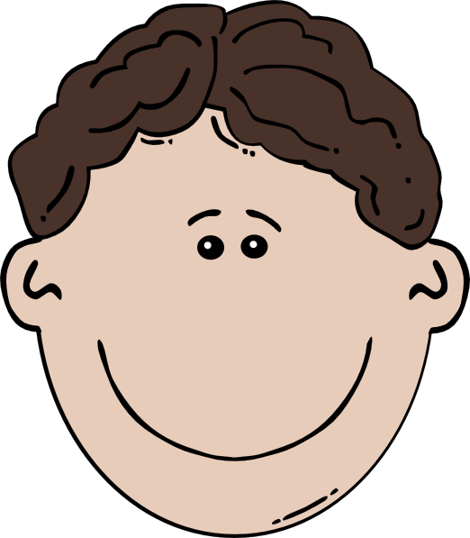 Boy Face Cartoon 3 Clip Art At Clker Com   Vector Clip Art Online
