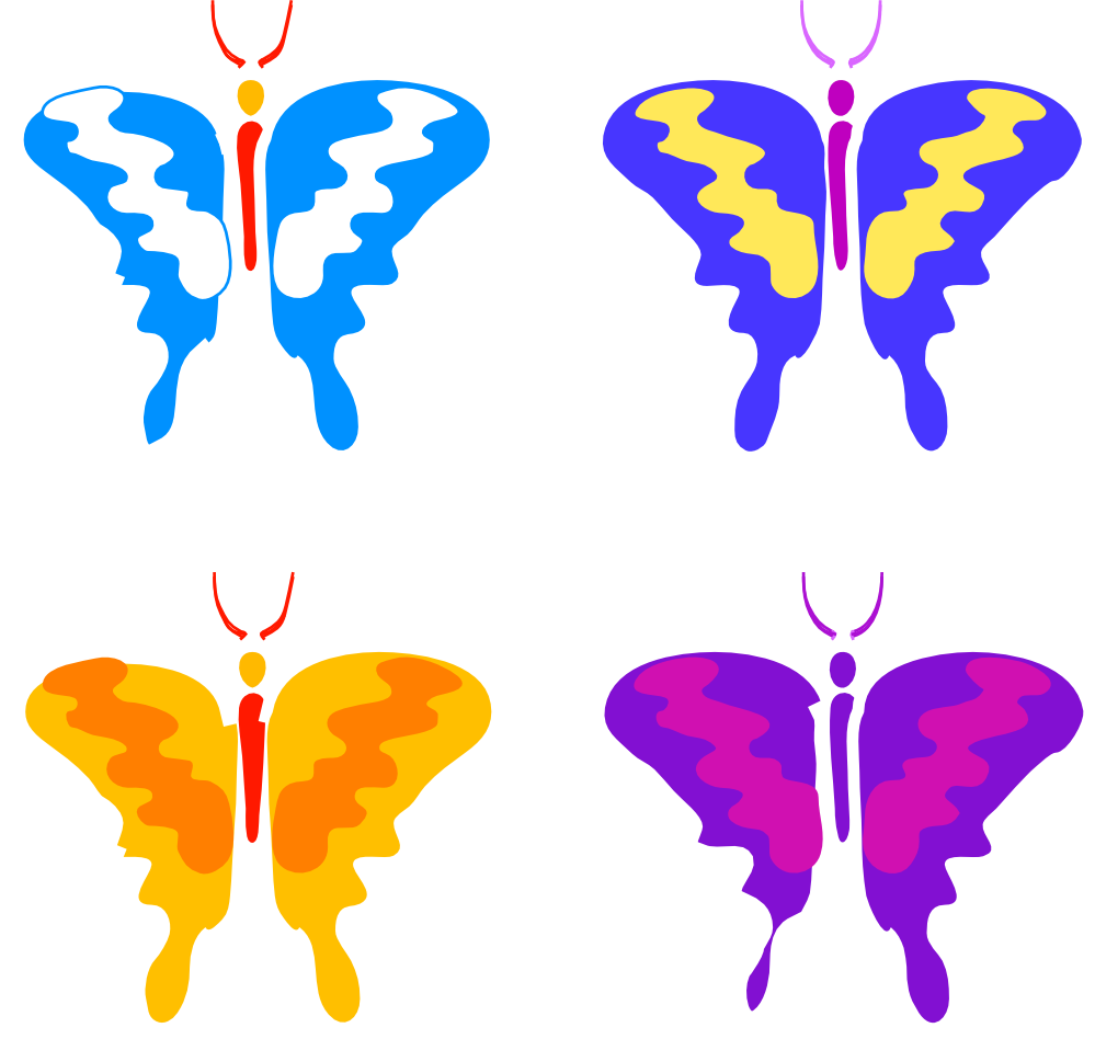 Butterfly 62 Flower Linkedin Valentine Clipartsy Com Svg