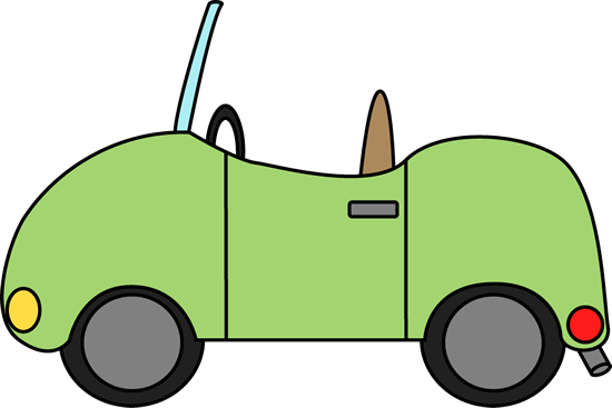 Car For Letter C Clip Art Image   Cute Green Convertible Car  Also