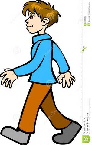 Cartoon People Walking   Clipart Best