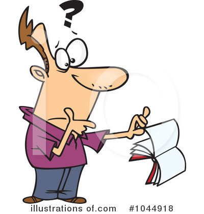 Confused Clipart  1044918   Illustration By Ron Leishman