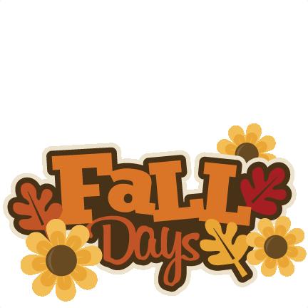Clip Art  Fall Birthday Clipart - Clip